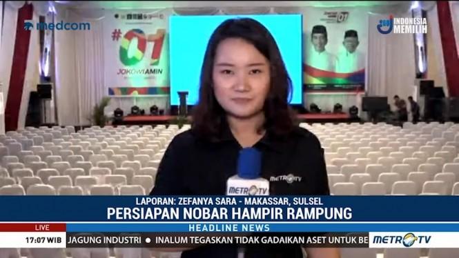 Nobar Debat Pilpres Digelar di Rumah Wali Kota Makassar
