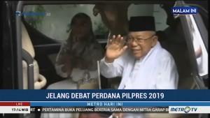 Ma'ruf Amin Bertolak ke Istana Negara