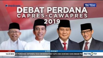 Strategi Capres Cawapres di Debat Perdana (1)