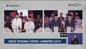 Debat Perdana Pilpres 2019 Part 5 - Program Penanganan Terorisme Capres Cawapres