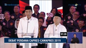 Debat Perdana Pilpres 2019 Part 6 - Adu Argumen Isu Hukum dan HAM