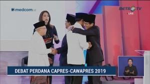 Debat Perdana Pilpres 2019 Part 8 - Janji Capres Cawapres