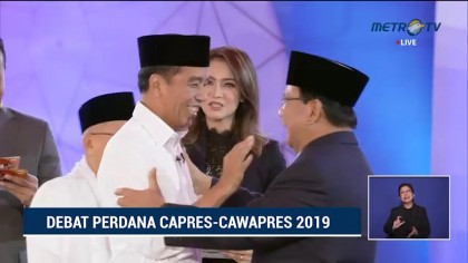 <i>Highlight</i> Debat Perdana Pilpres 2019