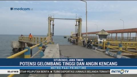 Potensi Gelombang Tinggi, Empat Pelabuhan di Situbondo Ditutup Sementara