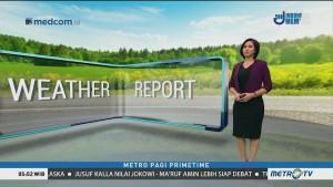 Prakiraan Cuaca: Jumat, 16 Januari 2019