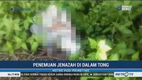 Jenazah dalam Tong Ditemukan Pemulung di Surabaya