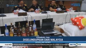 Bea Cukai Riau Amankan Ribuan Produk Ilegal Senilai Rp56 Miliar