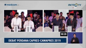 <i>Highlight</i> Debat Perdana Pilpres 2019 (2)