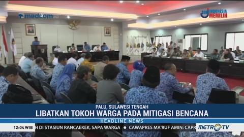 BNPB Imbau Libatkan Tokoh Warga Pada Mitigasi Bencana di Sulteng