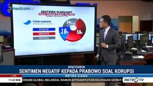 <i>Fact Check</i> Sentimen Netizen Pascadebat
