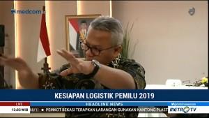 KPU Gelar Rapat Koordinasi Persiapan Produksi Logistik Pemilu