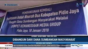 Yayasan Media Group Bangun Puskesmas di Pidie Jaya