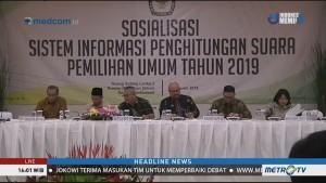 KPU Sosialisasi Situng Pemilu 2019