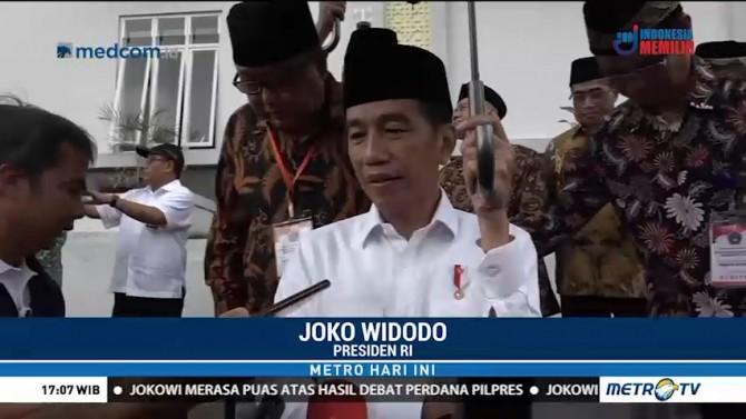Jokowi: Pembebasan Abu Bakar Ba'asyir karena Alasan Kemanusiaan
