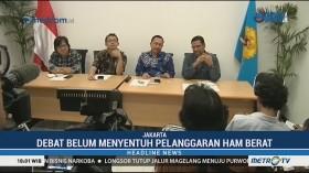 Debat Perdana Pilpres Belum Sentuh Pelanggaran HAM Berat