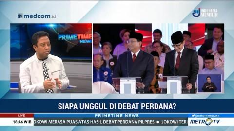 Joget Saat Debat, Romahurmuziy: Prabowo Kehilangan Keseimbangan