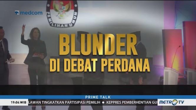 Blunder di Debat Perdana