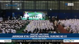 Jaringan Kiai Santri Nasional Dukung Jokowi-Ma'ruf