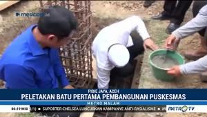 Media Group & Pemkab Pidie Jaya Letakan Batu Pertama Pembangunan Puskesmas