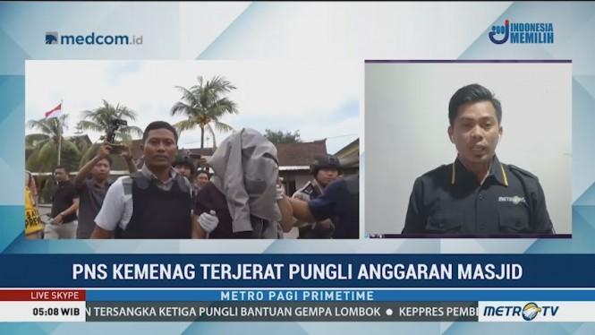 Pegawai Kemenag di Mataram Terjerat Pungli Anggaran Masjid