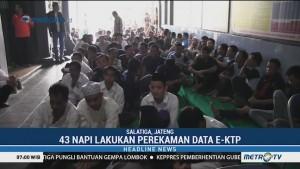 Jelang Pemilu, 43 Napi di Salatiga Lakukan Perekaman KTP-el