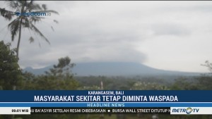 Status Gunung Agung Masih Siaga level III
