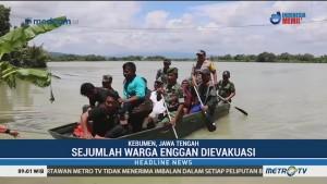 Banjir, Ratusan Warga di Kebumen Dievakuasi