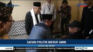 Ma'ruf Amin Temui Tokoh Masyarakat Sunda di Bandung