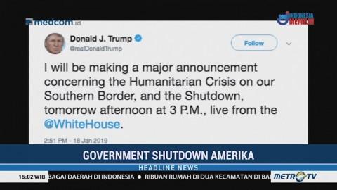 Trump akan Buat Pengumuman Besar Terkait <i>Government