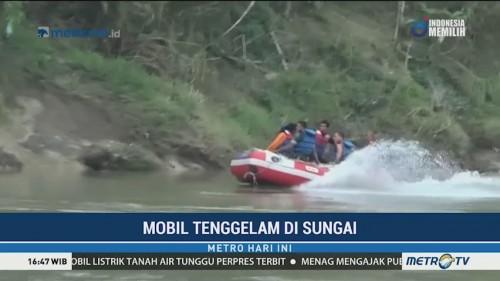 Dua Korban Mobil Tenggelam di Sungai Wampu Belum Ditemukan
