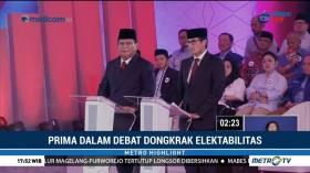 Prima dalam Debat Dongkrak Elektabilitas