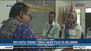 KPU Tebing Tinggi Seleksi Relawan Demokrasi Pemilu 2019