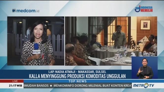 JK Bertemu Tokoh dan Kepala Daerah Sulawesi Selatan