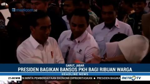 Jokowi Salurkan Langsung Bansos PKH