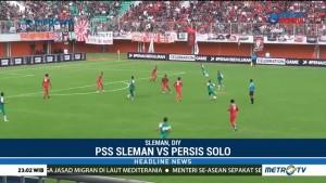 PSS Sleman Petik Kemenangan atas Persis Solo