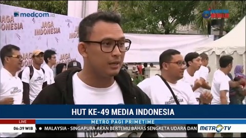 Media Indonesia Rayakan HUT ke-49 dengan <i>Fun Walk</i>