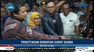 78 Juta Lebih Surat Suara Mulai Dicetak di Makassar