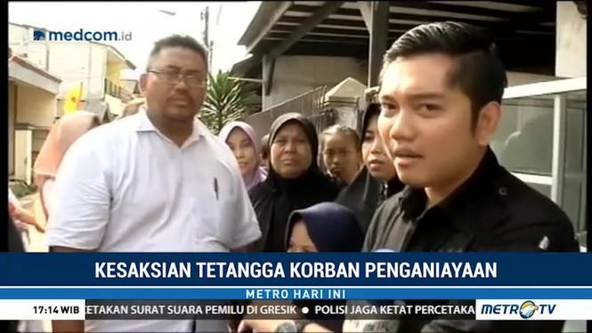 Kesaksian Tetangga Terkait Penganiyaan Bayi di Tangerang
