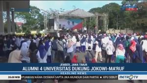 Alumni 4 Universitas di Jember Dukung Jokowi-Ma'ruf