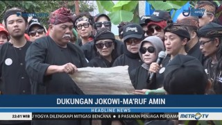Warga Cigugur Riang Deklarasi Dukung Jokowi-Ma'ruf