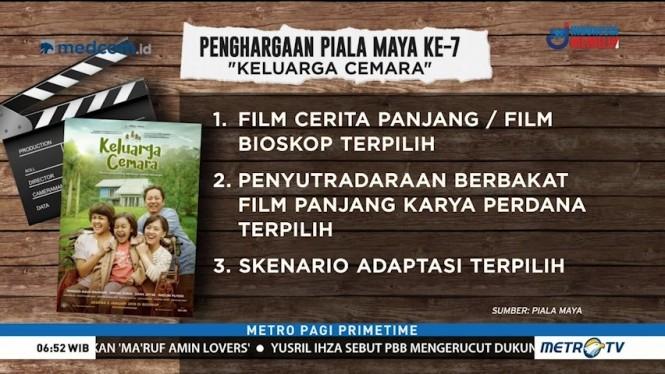 Film Keluarga Cemara Borong Enam Piala Maya 2019