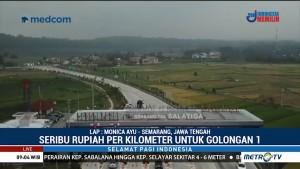 3 Ruas Tol Trans Jawa di Jateng Mulai Berbayar