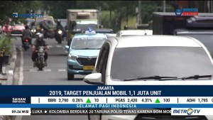 Gaikindo Targetkan 1,1 Juta Unit Penjualan Mobil di 2019