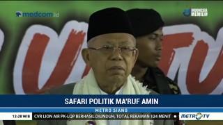 Safari Politik Ma'ruf Amin Berlanjut