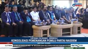 Jelang Pemilu 2019, NasDem Konsolidasi Pemenangan di Bengkulu