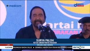 Surya Paloh Ingatkan Caleg Berkompetisi dalam Harmoni