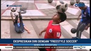 Ekspresikan Diri dengan <i>Freestyle Soccer</i>