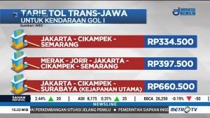 Ini Tarif Resmi Tiga Ruas Tol Trans-Jawa