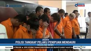 Polisi Tangkap Kepala Sekolah Gadungan Penipu Mendagri