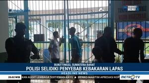 Polisi Selidiki Penyebab Kebakaran di Lapas Biaro Bukittinggi
